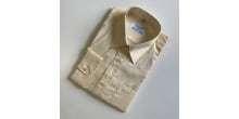 Cream Long sleeved school shirt