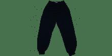 Navy fleece track suit bottoms